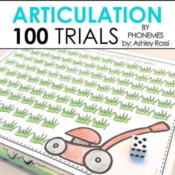 100 Trials Articulation - By Phonemic Sound