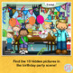 Articulation Activities: Hidden Pictures Birthday Party