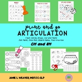 Articulation Activities Speech Therapy for CH and SH