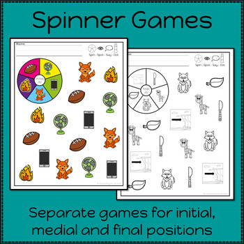 Articulation Activities and Games for Speech Therapy /f/