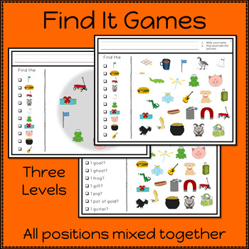 Articulation Activities and Games for Speech Therapy /g/