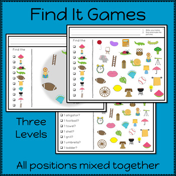 Articulation Activities and Games for Speech Therapy /l/