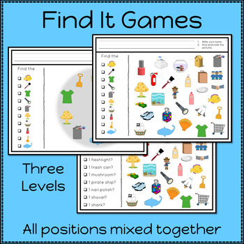 Articulation Activities and Games for Speech Therapy /sh/