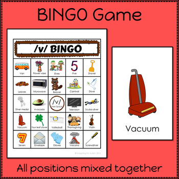 Articulation Activities and Games for Speech Therapy /v/