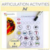 Articulation Activities for /s/