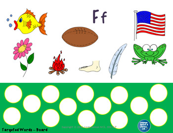 Articulation and Language Activities for the Beginning F Sound