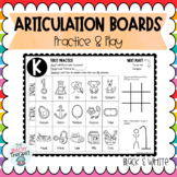 Articulation Activity Boards B&W: Combo 3: ALL SOUNDS!