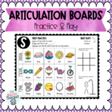 Articulation Activity Boards: Combo 2: SH, CH, TH, L, S, Z, R, & blends!