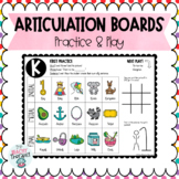 Articulation Activity Boards: Combo 3: ALL SOUNDS!