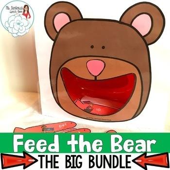 Articulation Activity Feed the Bear: The Big Bundle