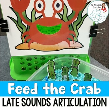 Articulation Activity Feed the Crab