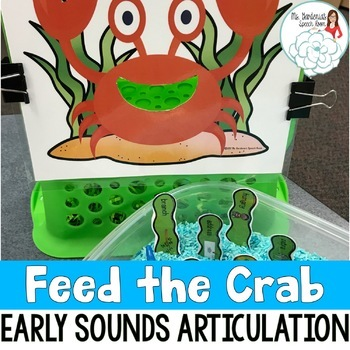 Articulation Activity Feed the Crab: Early Sounds