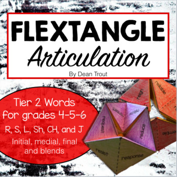Articulation Activity Flextangle For Grades 4,5,6