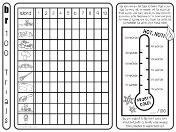 Articulation Activity: Hot 100 Articulation Trials for speech & language therapy