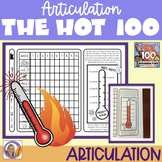 Articulation Activity: Hot 100 Articulation Trials for spe