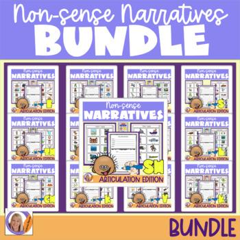 Articulation Activity: Non-sense narratives Bundle