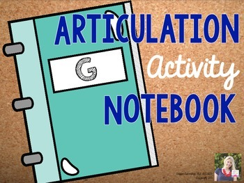 Articulation Activity Notebook: G