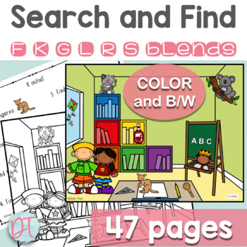 Articulation Activities: Search and Find Later Developing Sounds