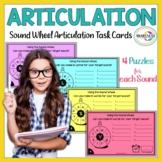 Articulation Sound Wheel Task Cards