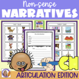 Articulation Activity: 'ch' non-sense narratives for speech and language therapy