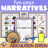 Articulation Activity: 'f' non-sense narratives for speech and language therapy