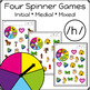 Articulation Activity: /h/ Spinner Speech Therapy Game