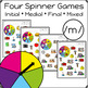 Articulation Activity: /m/ Spinner Speech Therapy Game