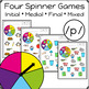 Articulation Activity: /p/ Spinner Speech Therapy Game