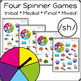 Articulation Activity: /sh/ Spinner Speech Therapy Game