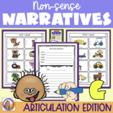 Articulation Activity: 'g' non-sense narratives for speech and language therapy