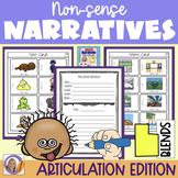 Articulation Activity: 'l'blends non-sense narratives for speech & language