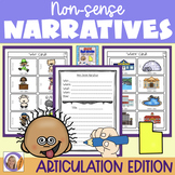 Articulation Activity: 'l' non-sense narratives for speech and language therapy