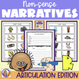 Articulation Activity: 'r' non-sense narratives for speech and language therapy