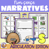 Articulation Activity: 's' non-sense narratives for speech and language therapy