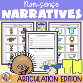 Articulation Activity: 'th' non-sense narratives for speech and language therapy