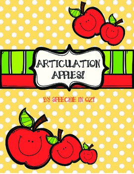 Articulation Apples!