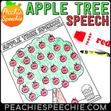 Articulation Apple Tree Speech Therapy Dot Marker Activity