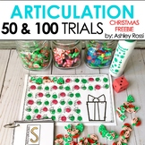 Articulation & Apraxia Trials | CHRISTMAS | 50 & 100 Challenge