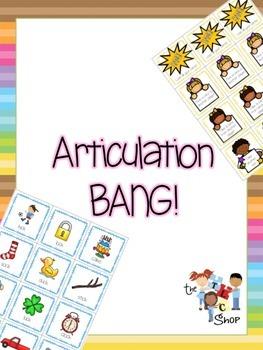 Articulation BANG! Set 1: /p, t, k, f, s/