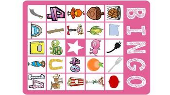 Articulation BINGO: OR; Vocalic /r/ Bingo