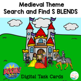 Articulation   BOOM CARDS   Search and Find S BLENDS