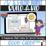 Articulation BOOM Cards™ BUNDLE - Build A Kid - S and S-Blends