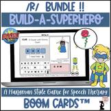 Articulation BOOM Cards™ BUNDLE - Build A Superhero - R