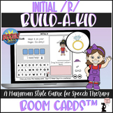 Articulation BOOM Cards™ - Initial R - Build-A-Kid Game