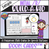 FREE Articulation BOOM Cards™ - Initial R - Build-A-Kid Game SAMPLE