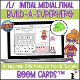 Articulation BOOM Cards™ - L - Build A Superhero Game