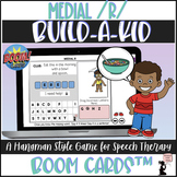 Articulation BOOM Cards™ - Medial R - Build-A-Kid Game