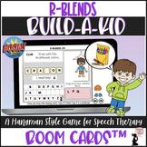 Articulation BOOM Cards™ - R Blends - Build-A-Kid Game