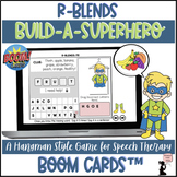Articulation BOOM Cards™ - R Blends - Build-A-Superhero Game