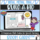 Articulation BOOM Cards™ - S - Build A Kid Game